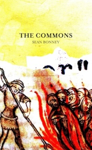 Sean Bonney - The Commons Cover Web