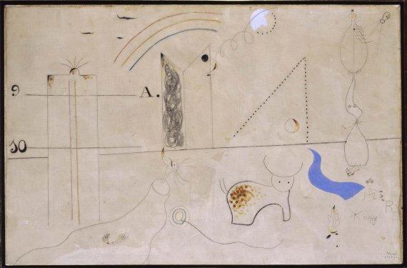 Joan Miró, 'Pastorale', 1923-4