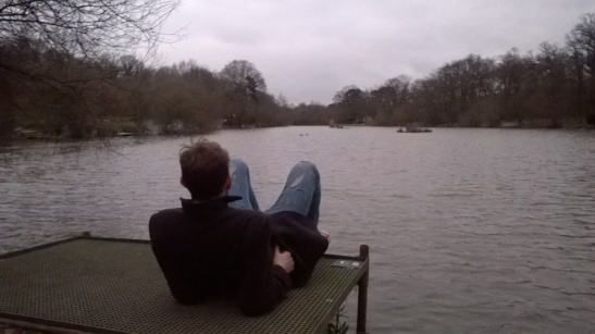 Moody surprise lake
